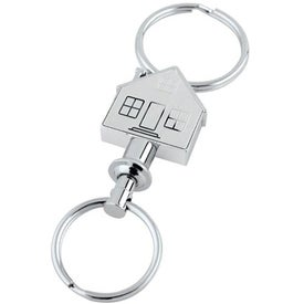 House Valet Key Tag for Customization