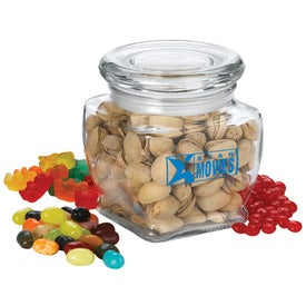 Howard Footed Glass (10 Oz., Medium Snack Fill)