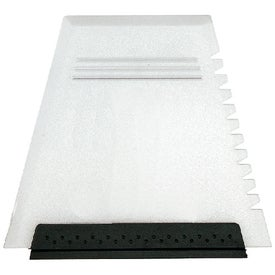 Customized Ice Scraper Windshield Squeegee Combo