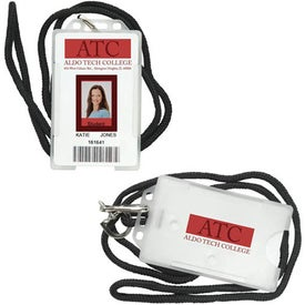 ID Holder with Lanyard Giveaways