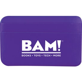 I.D. Please Card Holder Printed with Your Logo