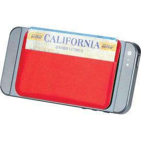 Imprinted I.D. Please Card Holder
