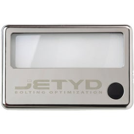 Personalized Illuminated Menu Magnifier