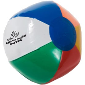 "Inflatable Beach Ball (6"")"