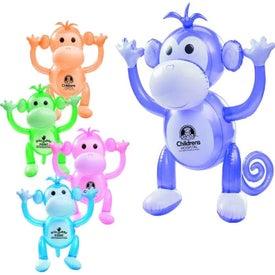 """Inflatable Monkey (24"""")"""