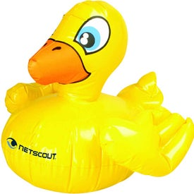 "Inflatable Rubber Duckie (16"")"