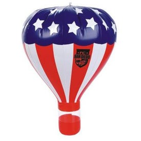 Inflatable Stars and Stripes Hot Air Balloon