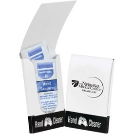 Instant Hand Cleaner Pocket Pack Imprinted with Your Logo