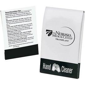 Branded Instant Hand Cleaner Pocket Pack