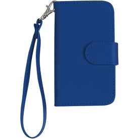 Promotional iPhone 4 and 4s Case with Magnetic Close Tab and Strap