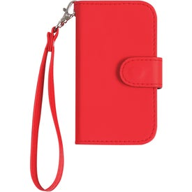 iPhone 4 and 4s Case with Magnetic Close Tab and Strap for Customization
