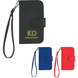 iPhone 4 and 4s Case with Magnetic Close Tab and Strap for Promotion