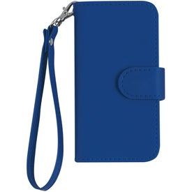 Logo iPhone 5 and 5s Case with Magnetic Close Tab and Strap