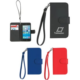 iPhone 5 and 5s Case with Magnetic Close Tab and Strap for Customization