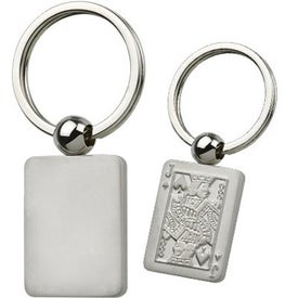 Personalized Jack Playing Card Keychain