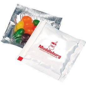 Monogrammed Jelly Beans Treat Packet