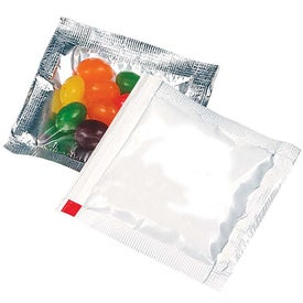 Branded Jelly Beans Treat Packet