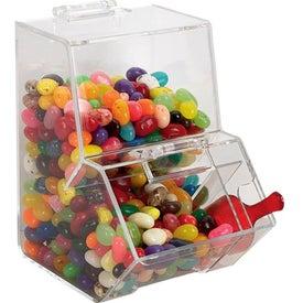 Branded Jelly Bean Dispenser - Candy
