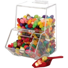 Logo Jelly Bean Dispenser - Empty