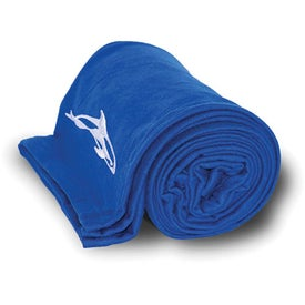 Jersey Blanket for Your Company