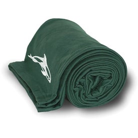 Jersey Blanket Branded with Your Logo