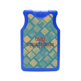 Monogrammed Jersey Shaped Credit Card Style Hand Sanitizer
