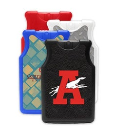 Jersey Shaped Credit Card Style Hand Sanitizer