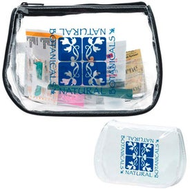 Imprinted Jet Setter Travel Kit with BIC2 Razor