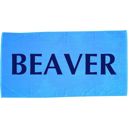 Coastal Blue Jewel Collection Beach Towel