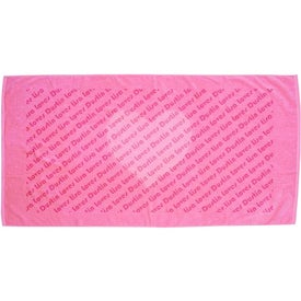 Promotional Jewel Collection Beach Towel