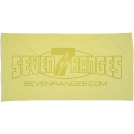 Personalized Jewel Collection Beach Towel