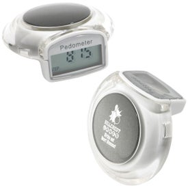Jewel Pedometer with Your Slogan