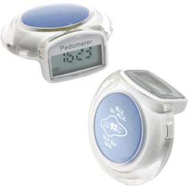 Imprinted Jewel Pedometer