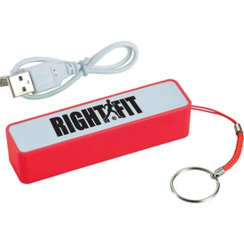 Jive Power Bank Charger Branded with Your Logo