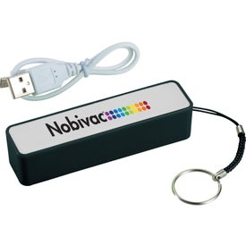 Jive Power Bank Charger with Your Slogan