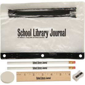 Jo Bee School Kit with Transparent Pouch