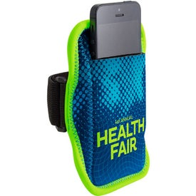 JogStrap Neoprene Smartphone or iPod Holder (Four Color Process)