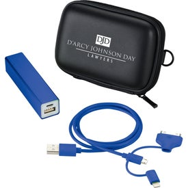 Jolt Power Bank Kit with MFI 3-in-1 Cable (2200 mAh)