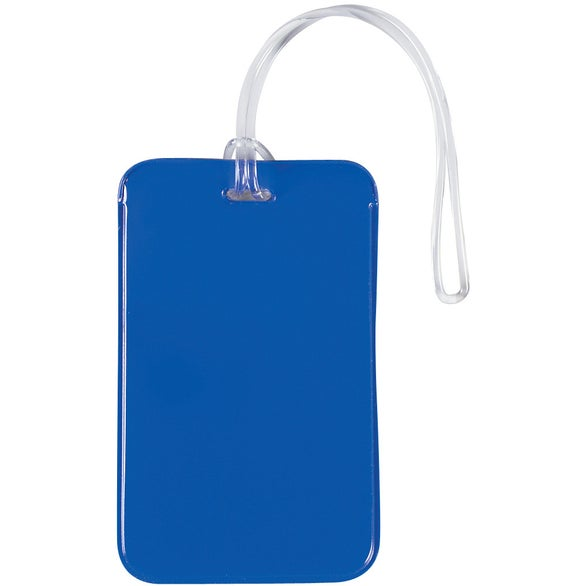 Blue Journey Luggage Tag