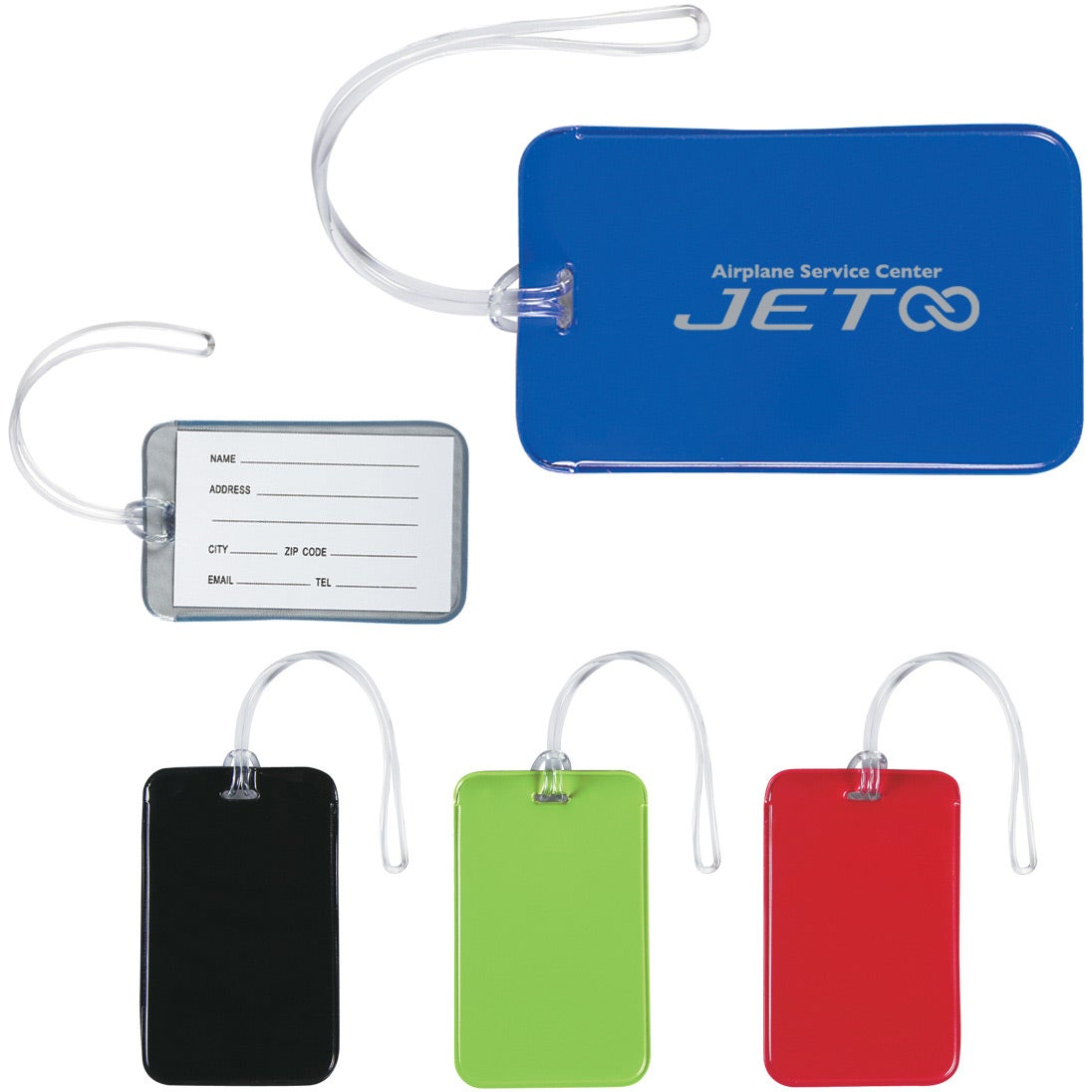 Save Big On Journey Luggage Tags Printed With Your Logo