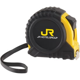 The Journeyman Locking Tape Measure with Your Slogan