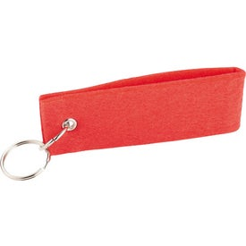 Jubilee Felt Keychain for Advertising