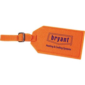 Jubilee Felt Luggage Tag for Your Company