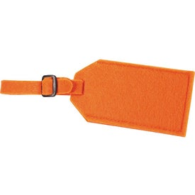 Jubilee Felt Luggage Tag with Your Logo