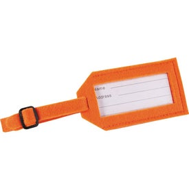 Jubilee Felt Luggage Tag for Promotion