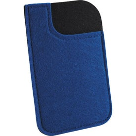 Imprinted Jubilee Felt Media Holder