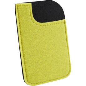 Jubilee Felt Media Holder Imprinted with Your Logo