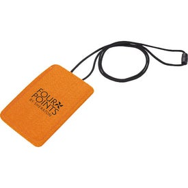 Jubilee Felt Media Holder Lanyard for Advertising