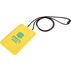 Jubilee Felt Media Holder Lanyard Giveaways