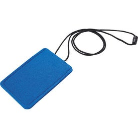 Jubilee Felt Media Holder Lanyard for Your Organization